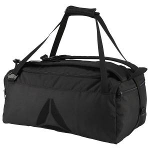 Reebok Active Enhanced Unisex Training Convertible Grip Bag in Black
