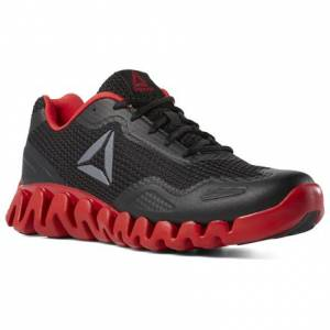 Reebok Men's Running Shoes ZIG PULSE - SE in Black / Red