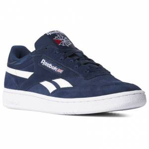 Reebok Men's Court Shoes Revenge Plus in Collegiate Navy