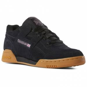 Reebok Workout Plus MU Men's Casual Shoes in Black / Gum