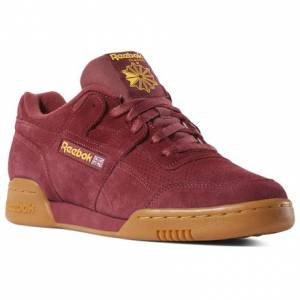 Reebok Workout Plus MU Men's Casual Shoes in Red