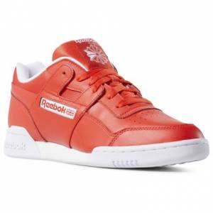 Reebok Workout Plus Men's Casual Shoes in Red