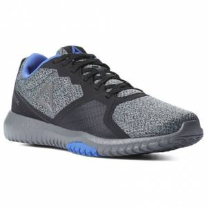 Reebok Men's Training Shoes Flexagon Force in Black / Alloy
