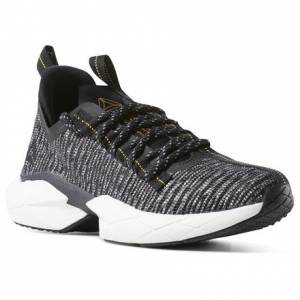 Reebok Sole Fury Floatride Unisex Running Shoes in Black / White