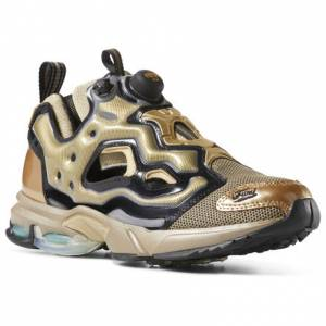 Reebok Shoes Fury Millennium Unisex Retro Running in Sleek Met / Black
