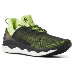Reebok Floatride Run Smooth Men's Running Shoes in Black / Yellow
