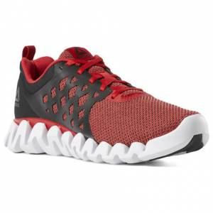 Reebok Zig Pulse 3 Men's Running Shoes in Primal Red