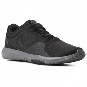 Reebok Flexagon Force Men's Training Shoes in Black / Alloy