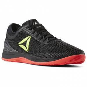 Reebok CrossFit Nano 8 Flexweave® Men's Training Shoes in Black / Neon Red