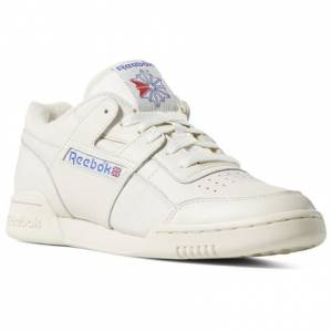 Reebok Workout Plus 1987 TV Unisex Casual Shoes in White
