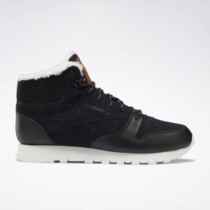 Reebok Women's Classic Leather Arctic Boots in Black