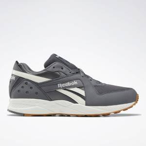 Reebok Pyro Unisex Retro Running Shoes in Grey
