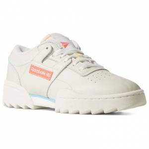 Reebok Workout Ripple OG Women's Lifestyle Shoes in Chalk