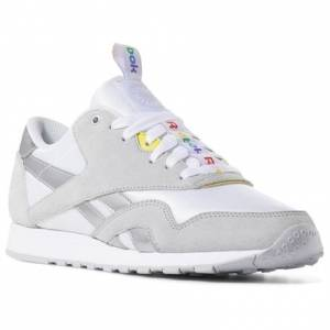 Reebok Classic Nylon x SoulCycle Women's Retro Running Shoes in White