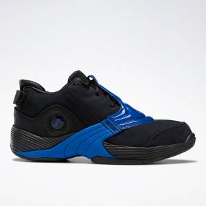 Reebok Unisex Answer V Basketball Shoes in Black / Blue