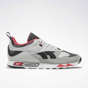Reebok Classic LEATHER RC 1.0 Unisex Shoes in Skull Grey