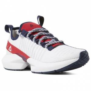Reebok Men's Lifestyle, Running Shoes Sole Fury in White / Red