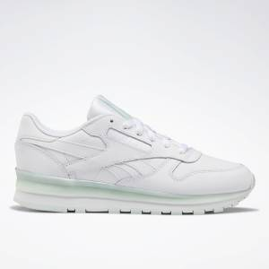 Reebok Classic Women's Lifestyle Leather Shoes in White