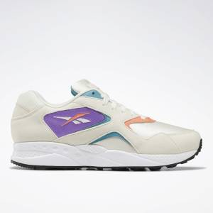 Reebok Torch Hex Women's Retro Running, Lifestyle Shoes in Chalk