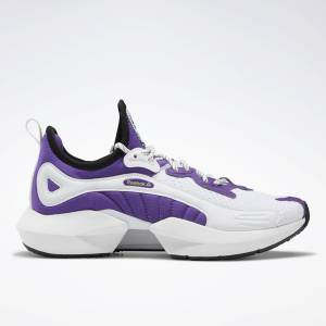 Reebok Sole Fury 00 Women's Running, Lifestyle Shoes in Regal Purple / White