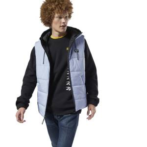 Reebok Classics Men's Lifestyle Vest in Blue