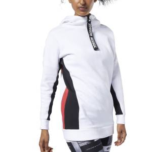 Reebok Meet You There Women's Training Oversize Cover-Up in White