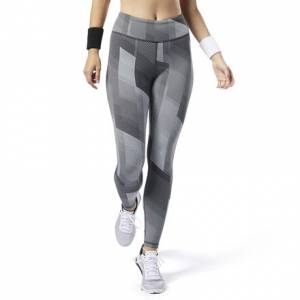 Reebok LUX Tights 2.0 Women's Training Leggings in Grey