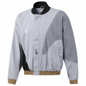 Reebok Classics x Pyer Moss Daytona Men's Bomber Jacket in Grey