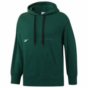 Reebok Classics x Pyer Moss Men's Casual Hoodie in Green