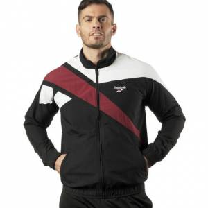 Reebok Archive Vector Men's Tracktop Jacket in Black