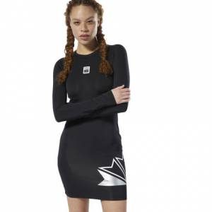 Reebok Classics x Married to the Mob Women's Lifestyle Dress in Black