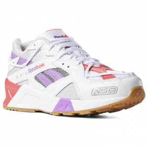 Reebok Unisex Retro Running Shoes Aztrek R58 in White