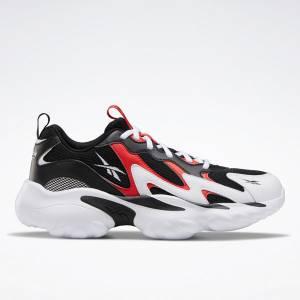 Reebok DMX Series 1000 Unisex Retro Running Shoes in Black / Red