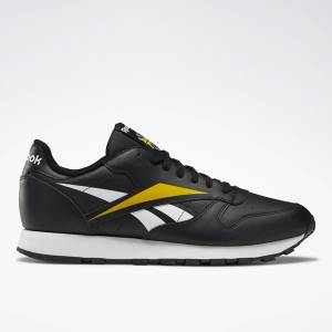 Reebok Classic Leather Vector Men's Lifestyle Shoes in Black
