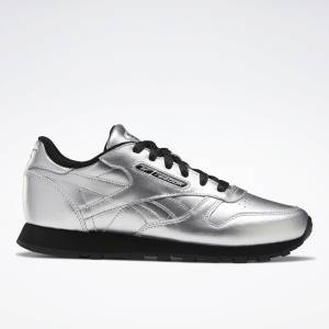 Reebok Classic Leather Women's Lifestyle Shoes in Silver