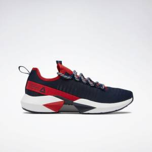 Reebok Men's Running Shoes Sole Fury in Collegiate Navy / White
