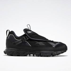 Reebok Unisex DMXpert Shroud Retro Running Shoes in Black