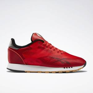 Reebok Classic Leather ATI Unisex Lifestyle Shoes in Radiant Red / Black
