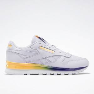 Reebok Classic Leather Women's Shoes in Lilac Frost