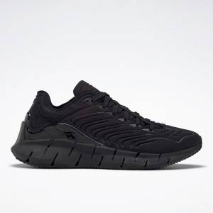 Reebok Unisex Zig Kinetica Lifestyle Shoes in Black