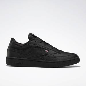 Reebok Club C 85 Revenge Men's Court, Lifestyle Shoes in Black