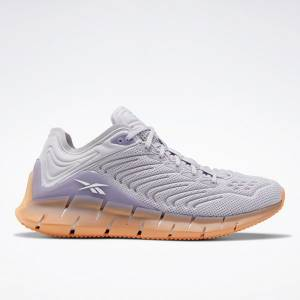 Reebok Zig Kinetica Women's Shoes in Grey / Violet