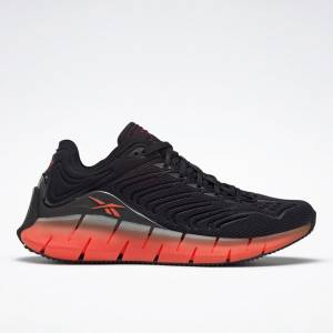 Reebok Zig Kinetica Women's Shoes in Black / Orange