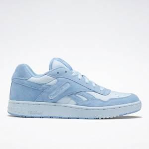 Reebok BB 4000 Unisex Low-Cut Basketball Shoes in Blue