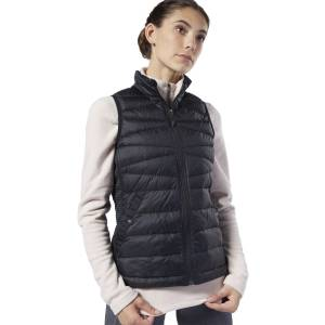 Reebok Women's Outerwear Thermowarm Hybrid Down Vest in Black