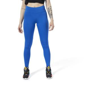 Reebok Classic Logo Women's Lifestyle Leggings in Moonlight Blue