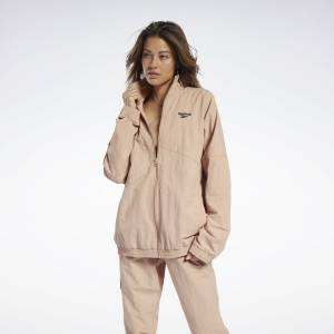 Reebok Gigi Hadid Women's Lifestyle Track Jacket in Field Beige