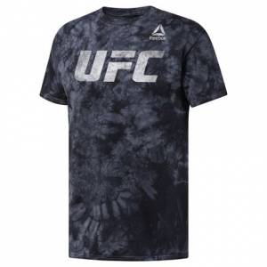Reebok UFC Distressed Men's Combat Tee in Black