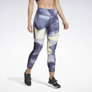 Reebok Running Essentials 7/8 Women's Tights in Purple