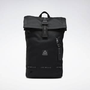 Reebok LES MILLS® Unisex Studio Backpack in Black